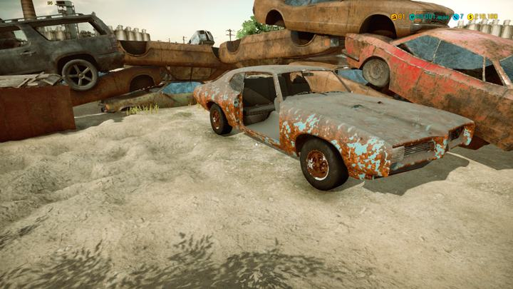Here you can find parts and seriously incomplete cars - Junkyard | Locations - Locations - Car Mechanic Simulator 2018 Game Guide