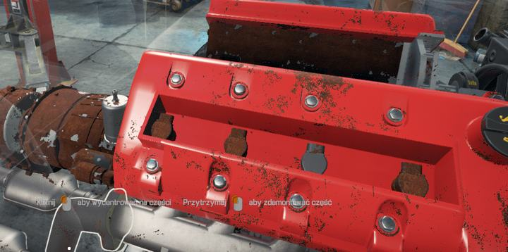 The second ignition spark and coil from the right are in good condition and can be put back - Job 33 - Chieftain TBX | Story orders - Story orders - Car Mechanic Simulator 2018 Game Guide