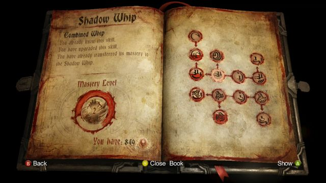 Shadow Whip Equipment And Upgrades Castlevania Lords Of Shadow