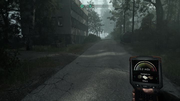 The destination is marked on the map - Hack NAR servers | Chernobylite walkthrough - Walkthrough - Chernobylite Guide