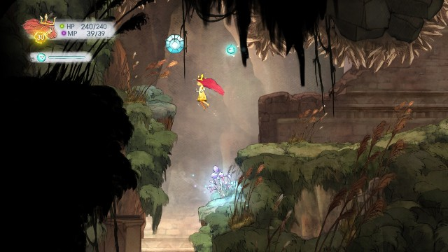 Tumbled Sapphire - Chapter 7 | Collectibles - Collectibles - Child of Light Game Guide
