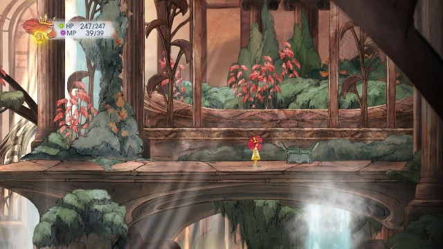 Theres Firefly Elixir in the right one, and a Defense Elixir in the left - Chapter 7 | Collectibles - Collectibles - Child of Light Game Guide