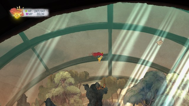 The message is located at the top of the location - Chapter 7 | Collectibles - Collectibles - Child of Light Game Guide