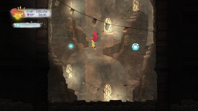 In the first is Rough Ruby, in the second is Lull Elixir and in the third is Potent Magic Potion - Chapter 8 | Collectibles - Collectibles - Child of Light Game Guide