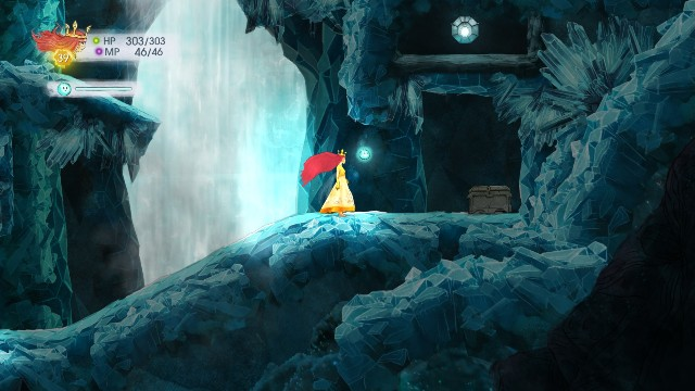 Rough Amethyst in the stone, Tumbled Sapphire in the chest - Chapter 10 | Collectibles - Collectibles - Child of Light Game Guide