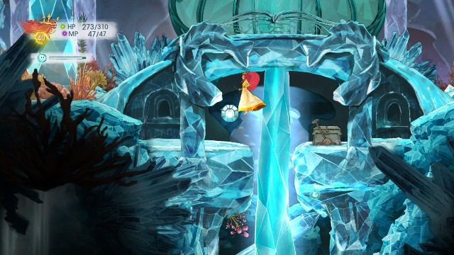 Rough Emerald in the stone and Tumbled Ruby in the chest - Chapter 10 | Collectibles - Collectibles - Child of Light Game Guide