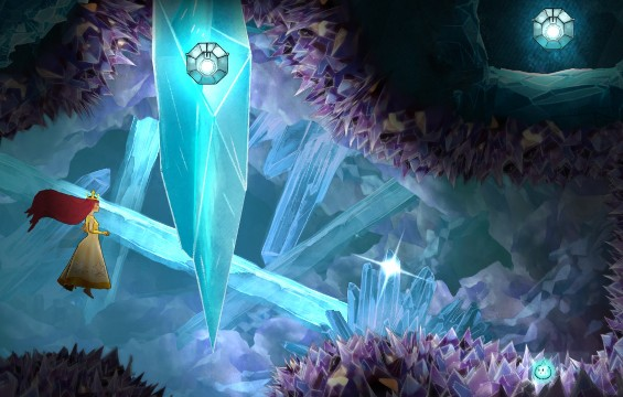 Firefly Elixir is in the first stone, and Rough Citrine in the other - Chapter 10 | Collectibles - Collectibles - Child of Light Game Guide
