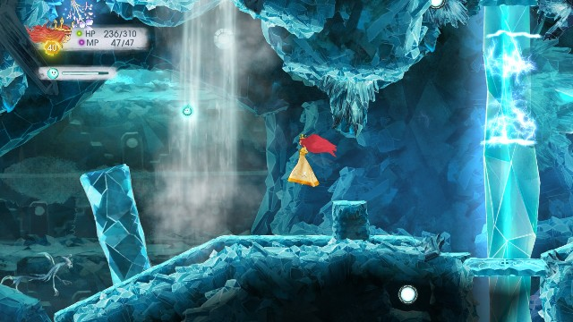You will get Tumbled Sapphire - Chapter 10 | Collectibles - Collectibles - Child of Light Game Guide