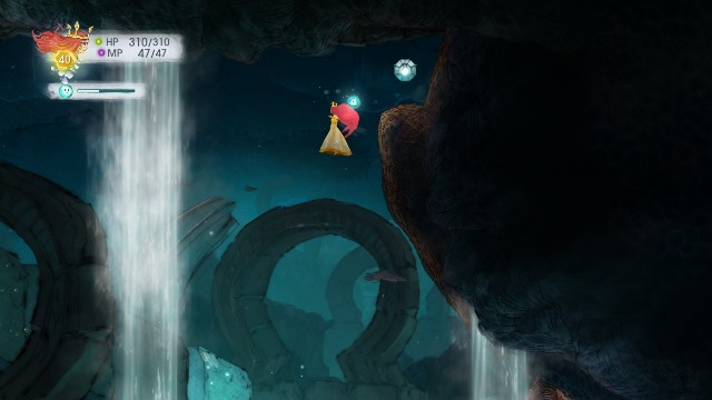 Tumbled Amethyst will be dropped from the stone - Chapter 10 | Collectibles - Collectibles - Child of Light Game Guide