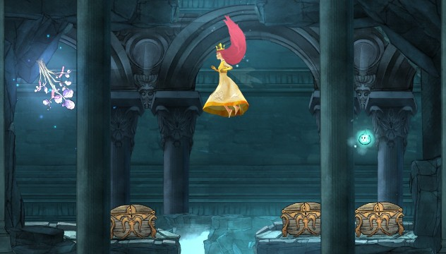 From the left: potion of Revive, Potent Faery Nectar and Unstoppable Elixir (all) - Chapter 10 | Collectibles - Collectibles - Child of Light Game Guide