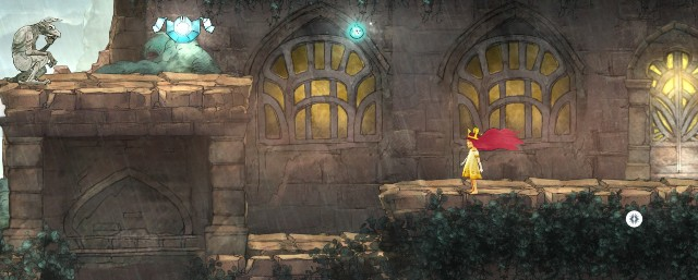 After you come out, go left, where you find another Oculi - Chapter 2 - The Queen of Light | Walkthrough - Walkthrough - Child of Light Game Guide