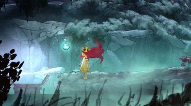 In the first chest, you will find Healing Tonic - Chapter 1 | Collectibles - Collectibles - Child of Light Game Guide