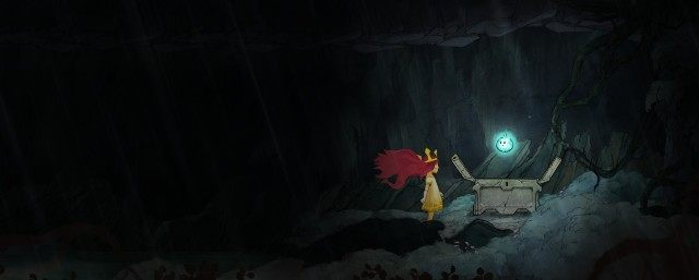 In the third chest, you find Magic Potion - Chapter 1 | Collectibles - Collectibles - Child of Light Game Guide