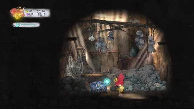 Inside, you find 2 Healing Tonic - Chapter 3 | Collectibles - Collectibles - Child of Light Game Guide