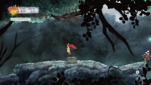 Inside, you find Magic Potion - Chapter 3 | Collectibles - Collectibles - Child of Light Game Guide