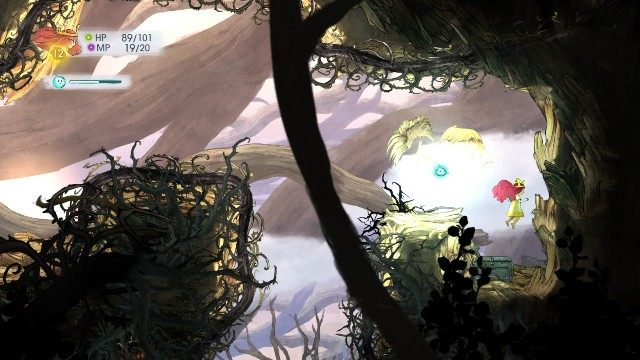 Inside this chest, there is Healing Tonic - Chapter 3 | Collectibles - Collectibles - Child of Light Game Guide