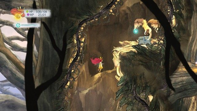 You will find Healing Potion - Chapter 3 | Collectibles - Collectibles - Child of Light Game Guide