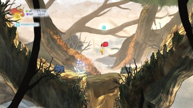 In the chest on the right, there is Rough Emerald and Antidotepotion in the left one - Chapter 3 | Collectibles - Collectibles - Child of Light Game Guide