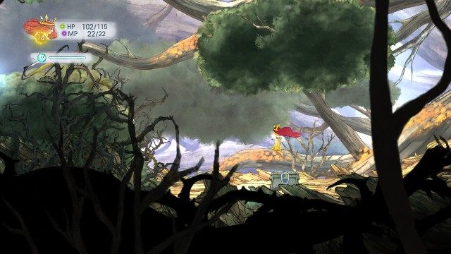 Inside this one, there is Rough Ruby - Chapter 3 | Collectibles - Collectibles - Child of Light Game Guide