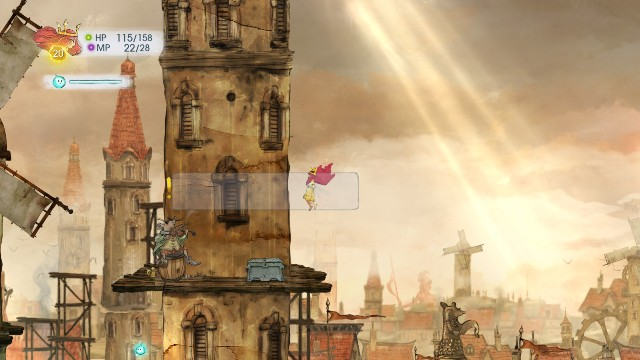 Inside the chest there is a Faery Nectar - Chapter 6 | Collectibles - Collectibles - Child of Light Game Guide