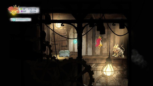 Inside it, you find a Faery Nectar - Chapter 6 | Collectibles - Collectibles - Child of Light Game Guide