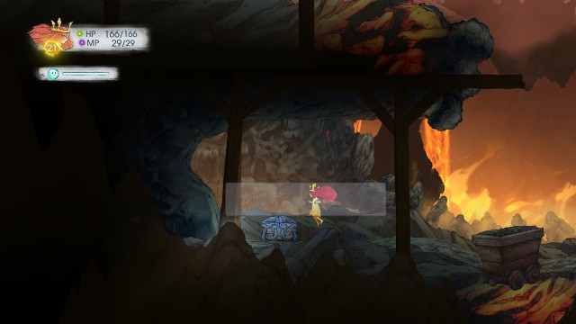 Inside, there is a Tumbled Sapphire - Chapter 6 | Collectibles - Collectibles - Child of Light Game Guide