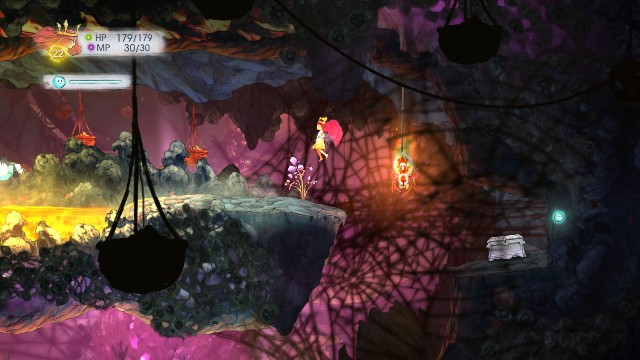 You get Potent Healing Potions from both objects. - Chapter 6 | Collectibles - Collectibles - Child of Light Game Guide