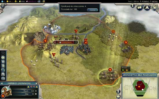 You don't have a choice regarding the civilization in this scenario - Mongols - Scenarios - Sid Meiers Civilization V - Gods & Kings - Game Guide and Walkthrough