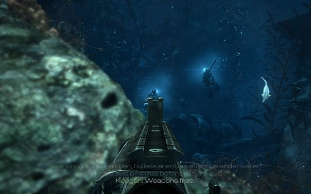 12 Into The Deep Campaign Walkthrough Call Of Duty Ghosts