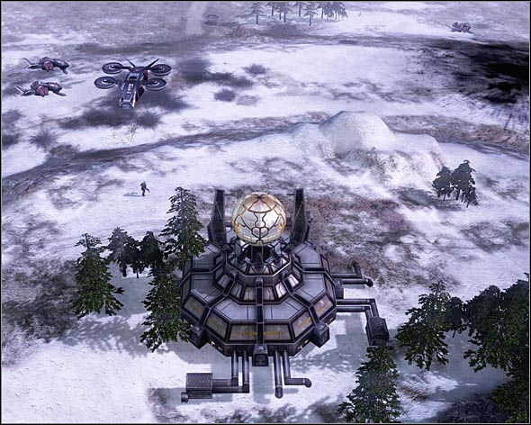 This building hold the Tacitus. - Tacitus Regained - Act 3 - Command & Conquer 3: Kanes Wrath - Game Guide and Walkthrough