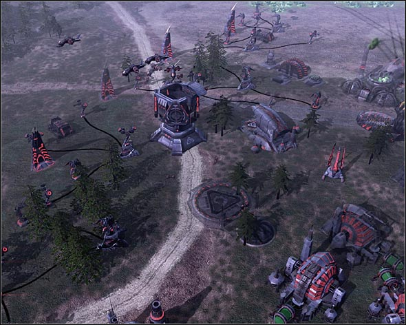 Obelisks of Light, shredders and Venoms should be able to stop all enemy attacks - Tacitus Regained - Act 3 - Command & Conquer 3: Kanes Wrath - Game Guide and Walkthrough