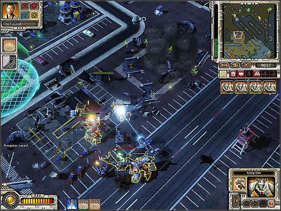 If you do not have what to do with a field force created by Nanoswarm, check if your ally does not need it - Empire of The Rising Sun - Amsterdam - part 1 - Empire of The Rising Sun - Command & Conquer: Red Alert 3 - Game Guide and Walkthrough