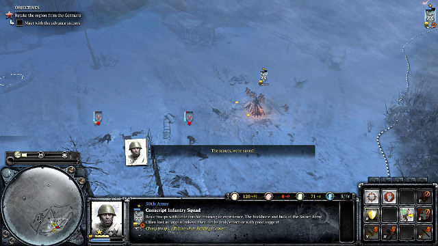 Mission 04 The Miraculous Winter The Campaign Mode Company Of Heroes 2 Game Guide Gamepressure Com