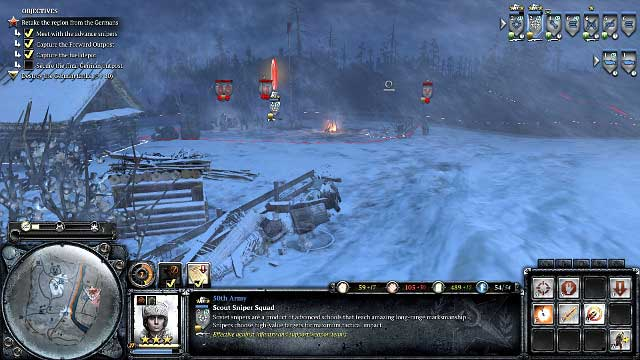 Coh 2 Case Blue : Mission 04 the miraculous winter the campaign mode company of
