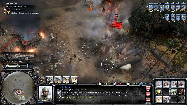 Mission 13 Halbe The Campaign Mode Company Of Heroes 2 Game