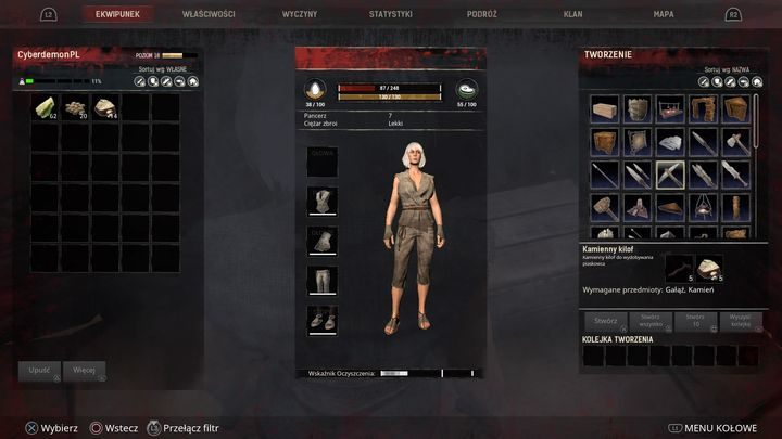 To extract some raw materials, you need tools that you can build in the crafting menu. - Resources raw materials and item crafting | Starting Tips | Conan Exiles - Starting Tips - Conan Exiles Game Guide