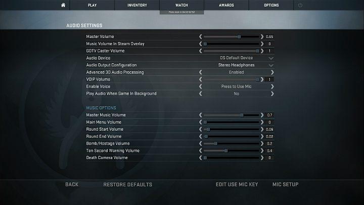 Video And Audio Settings In Cs Go Cs Go Game Guide Gamepressure Com
