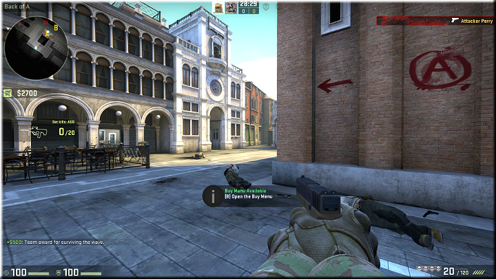 Possibly the best spot on the entire map - Mission 9 - Canals - Blood in the Water - Missions - CS GO Game Guide