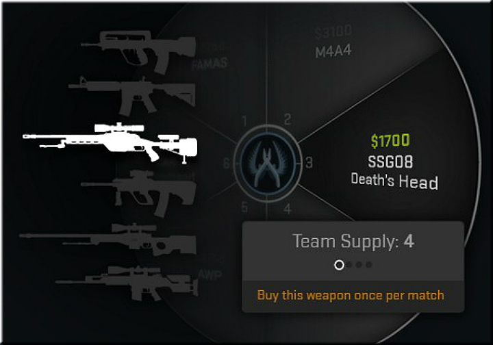 This is a mode, in which teams of five play for a maximum of 30 rounds including a side swap - Weapon Expert Mode in CS: GO - New modes - CS GO Game Guide