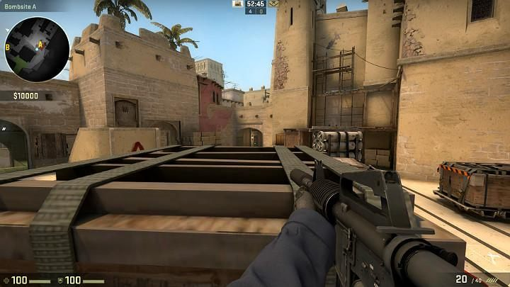 Jump up and let the teammate stand up - Mirage | Tournament maps in CS GO - Tournament Maps in Counter Strike: Global Offensive - CS GO Game Guide