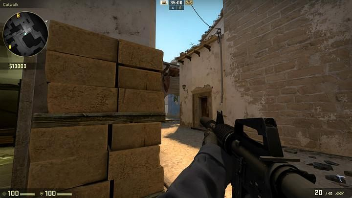 As you access point B from the passage, first check out the windows and the area next to the van - Mirage | Tournament maps in CS GO - Tournament Maps in Counter Strike: Global Offensive - CS GO Game Guide