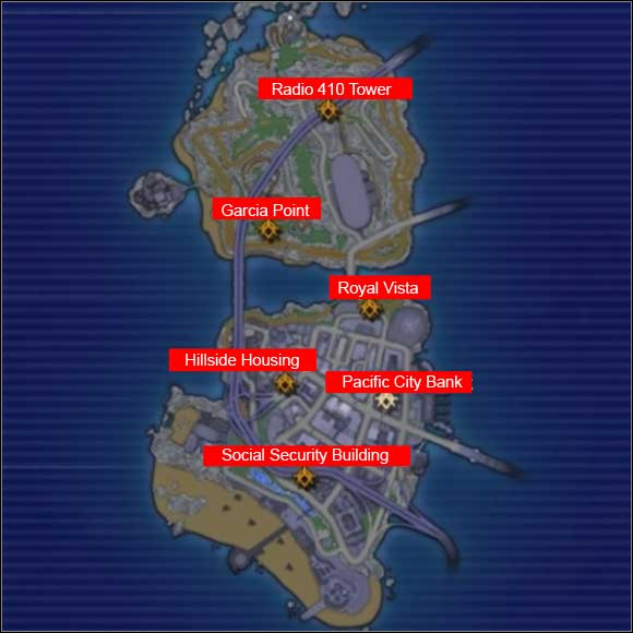 Los Muertos bosses locations - Los Muertos - Crackdown - Game Guide and Walkthrough