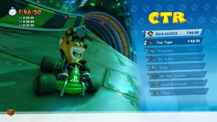 Initially almost all content will be locked, but with every won race and cup, CTR Challenge or Relic Race you unlock a new item - Gokarts in Crash Team Racing Nitro-Fueled - Game content - Crash Team Racing Nitro-Fueled Guide