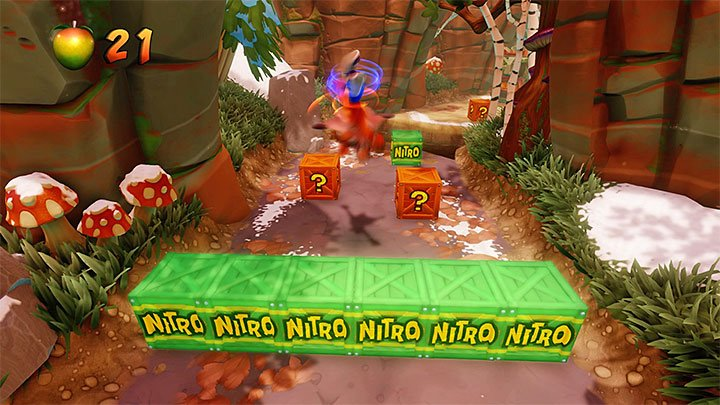 Some beehives are situated in problematic places - Bee-Having | Crash Bandicoot 2 | Levels - Crash Bandicoot 2 - Alpine Warp Room - Crash Bandicoot N. Sane Trilogy Game Guide
