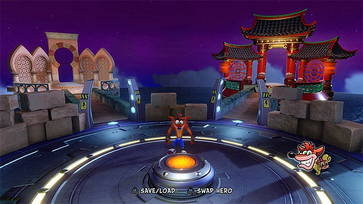 After you have obtained, at least, 5 relics, return to the main hub where you choose stages - Stages 26-30 | Crash Bandicoot 3 | Secret Levels - Crash Bandicoot 3 - Secret levels - Crash Bandicoot N. Sane Trilogy Game Guide