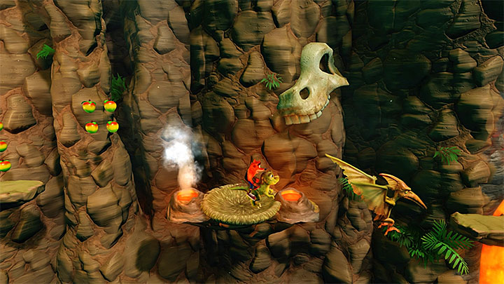 In itself, Eggipus Rex is not too difficult a stage - Hot Coco and Eggipus Rex | Crash Bandicoot 3 | Secret Levels - Crash Bandicoot 3 - Secret levels - Crash Bandicoot N. Sane Trilogy Game Guide