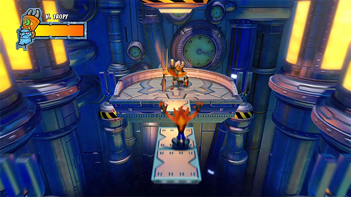 Sooner or later, his attack will exhaust Nefarious - A Nefarious Trophy | Crash Bandicoot 3 Trophy Guide - Crash Bandicoot 3: Warped - Crash Bandicoot N. Sane Trilogy Game Guide