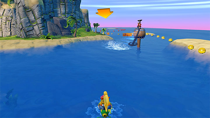 From the very beginning, try to smash all the crates you pass by (to get some of them you will have to use a ramp)m because there are more than sixty of them here - Tell No Tales | Crash Bandicoot 3 | Levels - Crash Bandicoot 3 - Egyptian location - Crash Bandicoot N. Sane Trilogy Game Guide