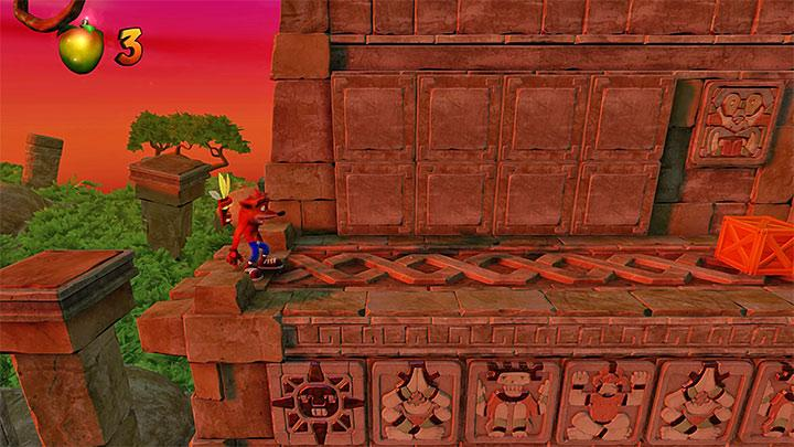 Getting the second token of Cortex is not that obvious as well - Sunset Vista | Wumpa Island | Levels - Crash Bandicoot - Wumpa Island - Crash Bandicoot N. Sane Trilogy Game Guide