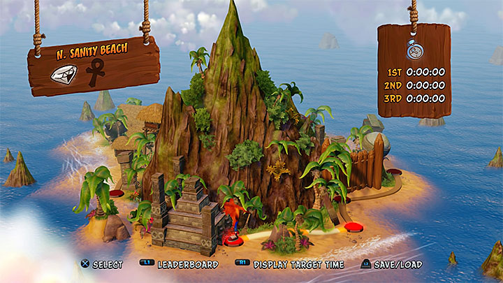 A look at N. Sanity Island - Crash Bandicoot - N. Sanity Island - Island description - Crash Bandicoot - N. Sanity Island - Crash Bandicoot N. Sane Trilogy Game Guide